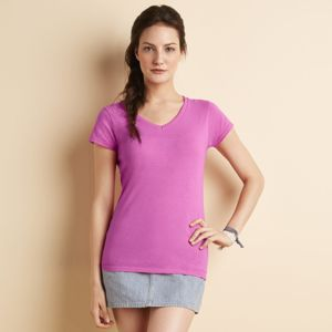 Softstyle® women's v-neck t-shirt Thumbnail