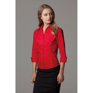 Women's corporate Oxford shirt ¾ sleeved Thumbnail