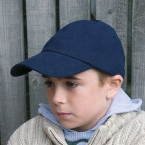 Junior low profile heavy brushed cotton cap Thumbnail
