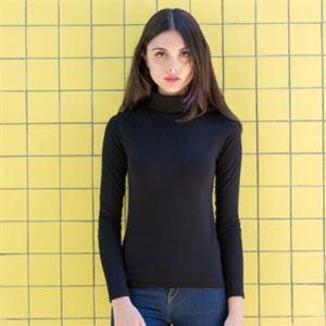Women's feel good roll neck top Thumbnail