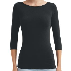 Women's stretch ¾ sleeve tee Thumbnail