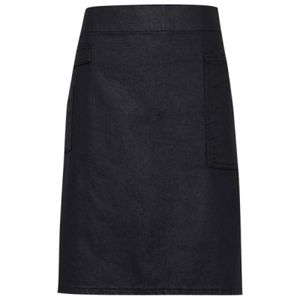 Division waxed-look denim waist apron Thumbnail