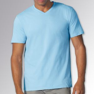 Premium Cotton Men's V-Neck T-Shirt Thumbnail