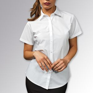 Women's Supreme Poplin Short Sleeve Shirt Thumbnail