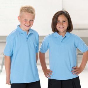 Childrens Hard-wearing Polo Shirt Thumbnail