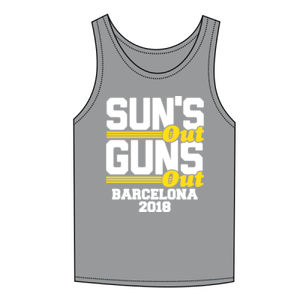 Sun's Out Guns Out Holiday Vest Thumbnail